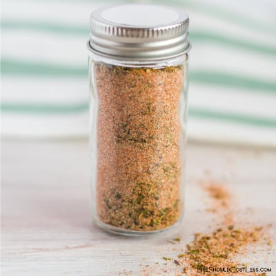 Bulk Zesty Italian Dressing Mix To Fill Pint Jar. lifeshouldcostless.com