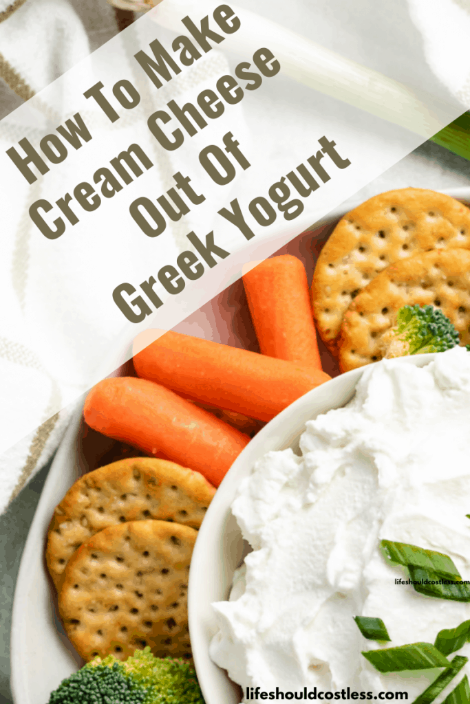 Replace cream cheese with greek yogurt. lifeshouldcostless.com