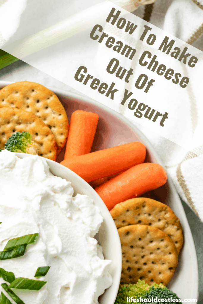 Can I substitute yogurt for cream cheese? lifeshouldcostless.com