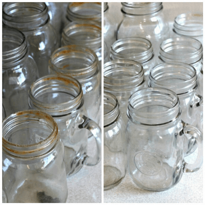 How to wash mason jars.