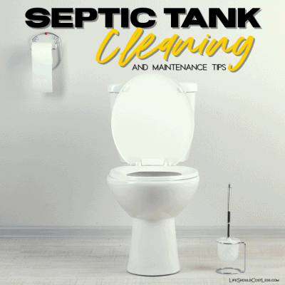 Septic tank care tips. lifeshouldcostless.com