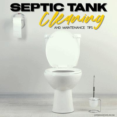 Septic tank care tips. lifeshouldcostless.com