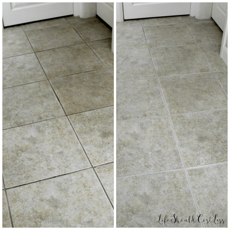 Tile and counter top grout cleaning tips. lifeshouldcostless.com