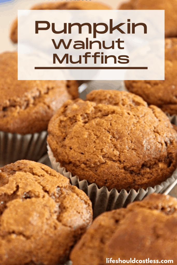 How to make healthy pumpkin nut muffins.