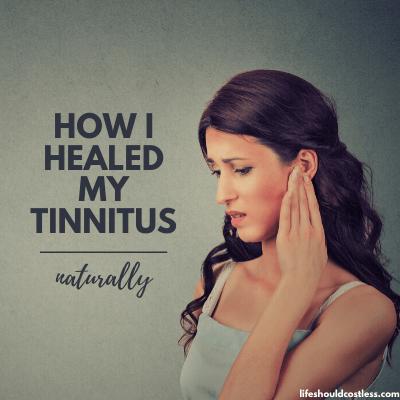 Easy tinnitus relief. lifeshouldcostless.com