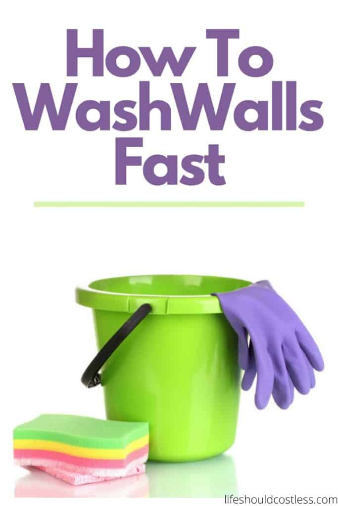 The best and easiest way to wash walls. The painless way to wash walls. lifeshouldcostless.com