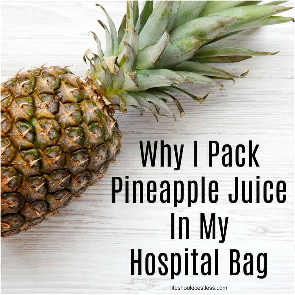 pineapple juice after delivery, postpartum, labor, hospital bag, blocked milk ducts, pregnancy. lifeshouldcostless.com_