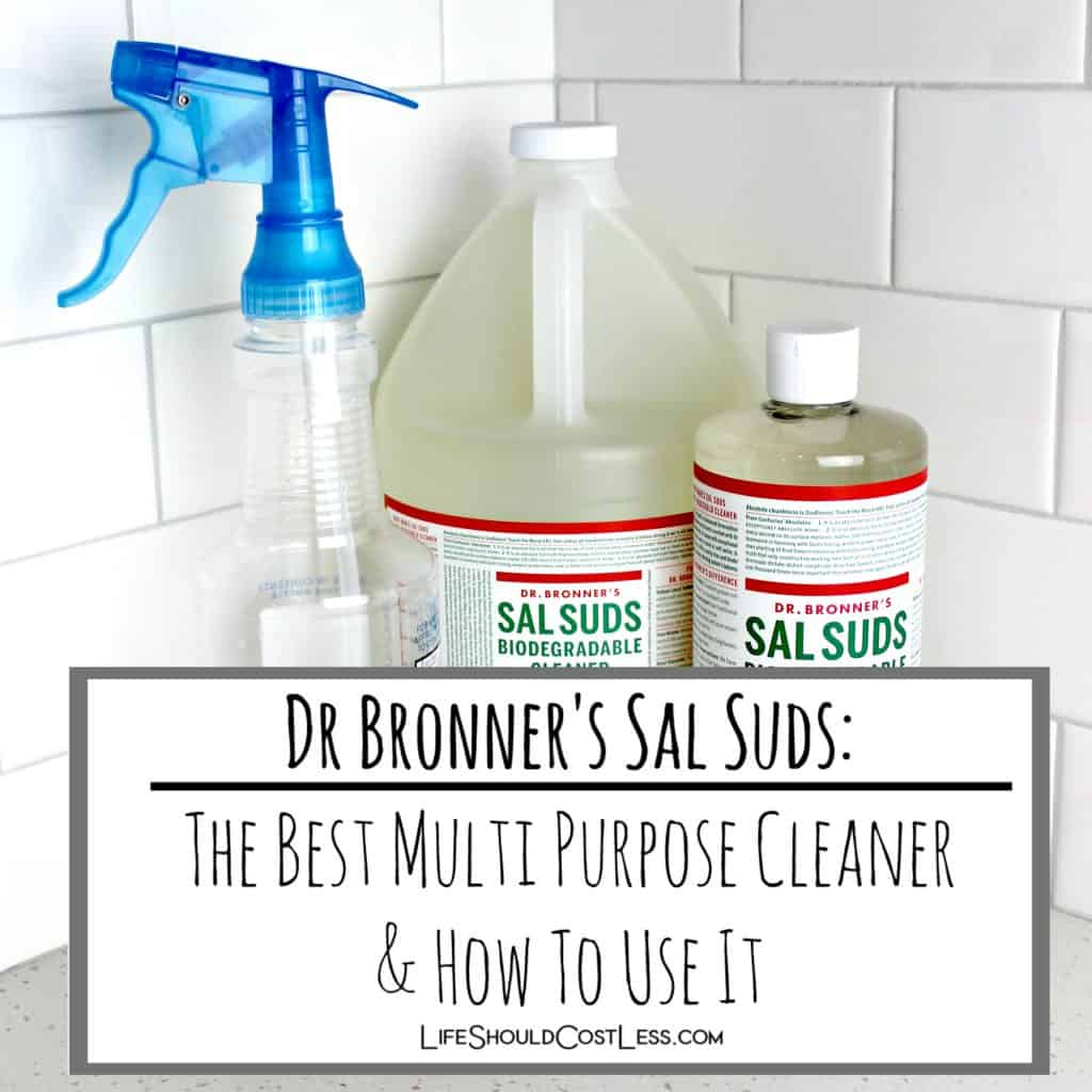 Sal Suds: The Best Multi Purpose Cleaning Product (& how to use it)