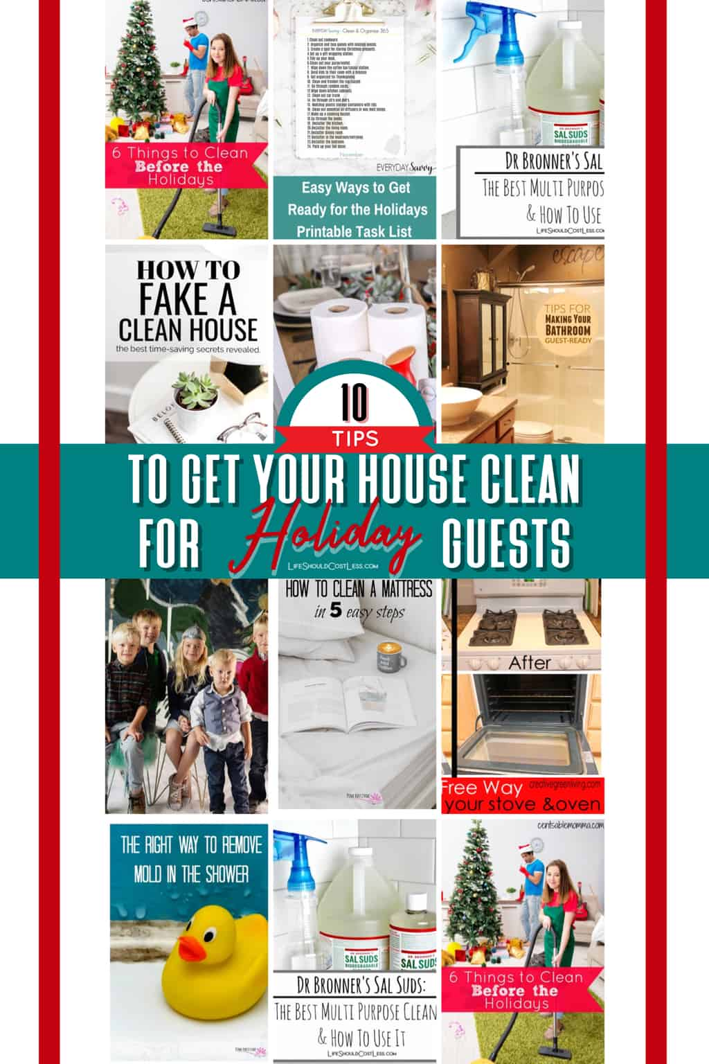 Ten Tips For Getting Your House Clean For Holiday Guests
