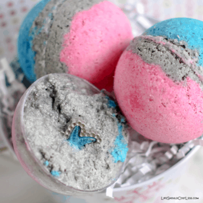 How To Make Bath Bombs With Hidden Surprises lifeshouldcostless.com