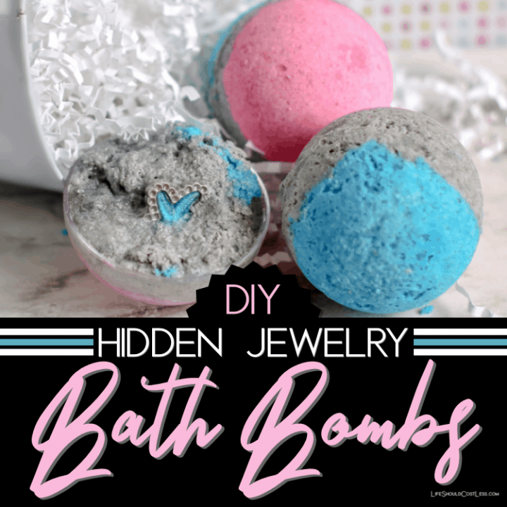 How To Make Bath Bombs With Hidden Jewelry Inside
