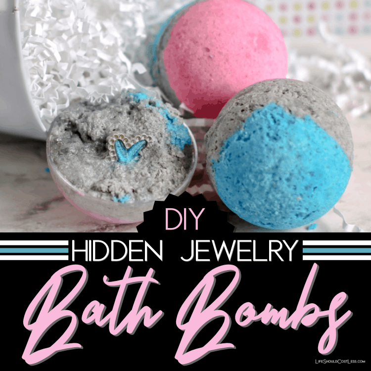 How To Make Bath Bombs With Hidden Jewelry Inside. lifeshouldcostless.com