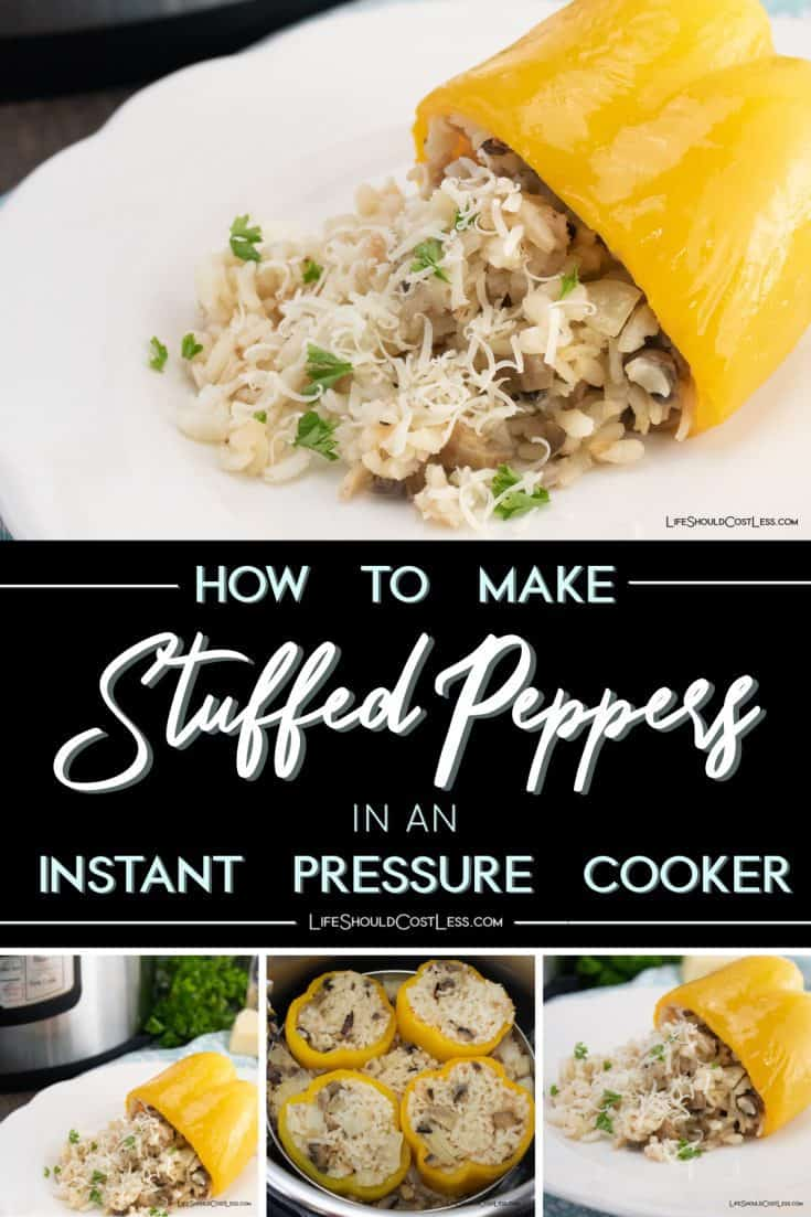 Making stuffed peppers in your Instant Pot is easier than you might think! A photo tutorial of the process will have you making them in no time. These Parmesan Risotto Stuffed Peppers really hit the spot. lifeshouldcostless.com