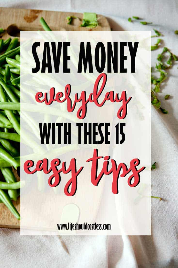 How to make frugal living part of your daily life. Best frugal living tips. lifeshouldcostless.com