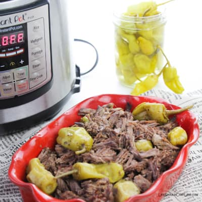 Instant Pot Italian Roast Beef Recipe. lifeshouldcostless.com