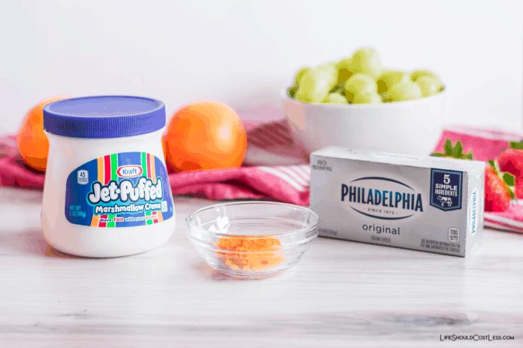 The Best Marshmallow Fruit Dip lifeshouldcostless.com