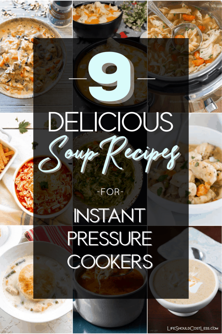 9 Delicious Chicken Soup Recipes for Instant Pressure Cookers lifeshouldcostless.com