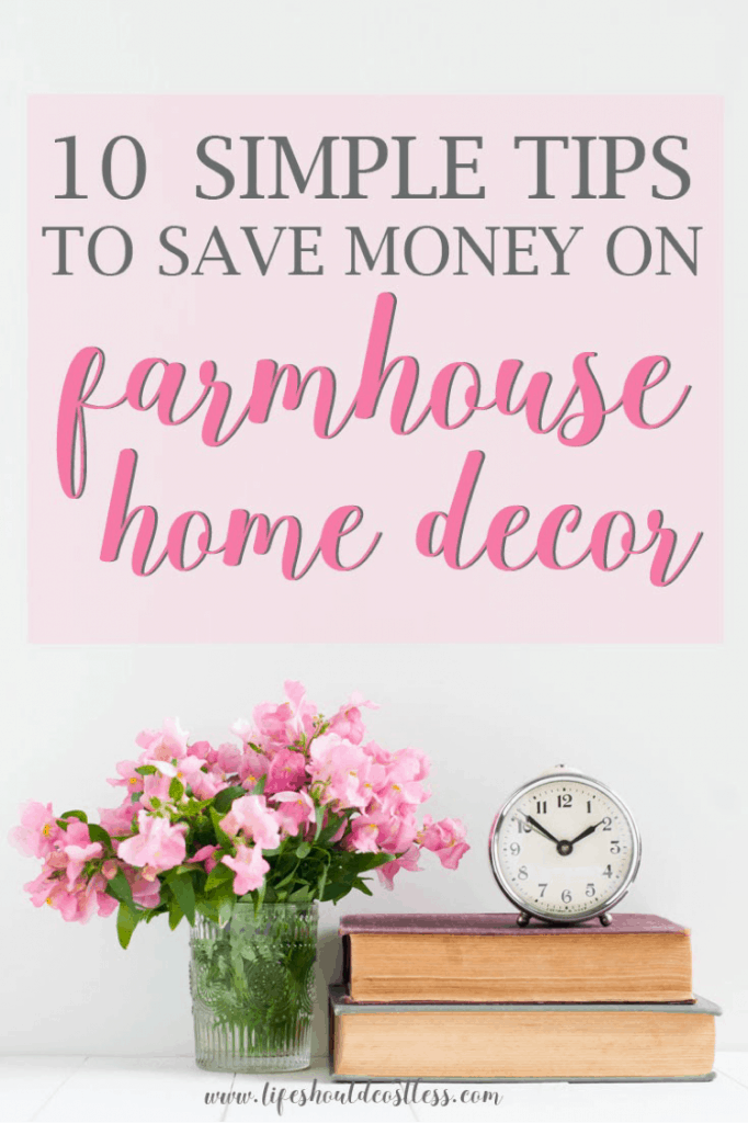 Frugal home decorating on a budget how to decorate your farmhouse on the cheap lifeshouldcostless.com