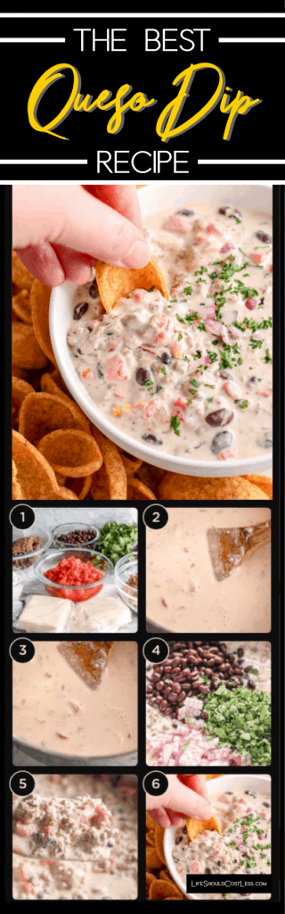 The Best Queso Dip Recipe lifeshouldcostless.com