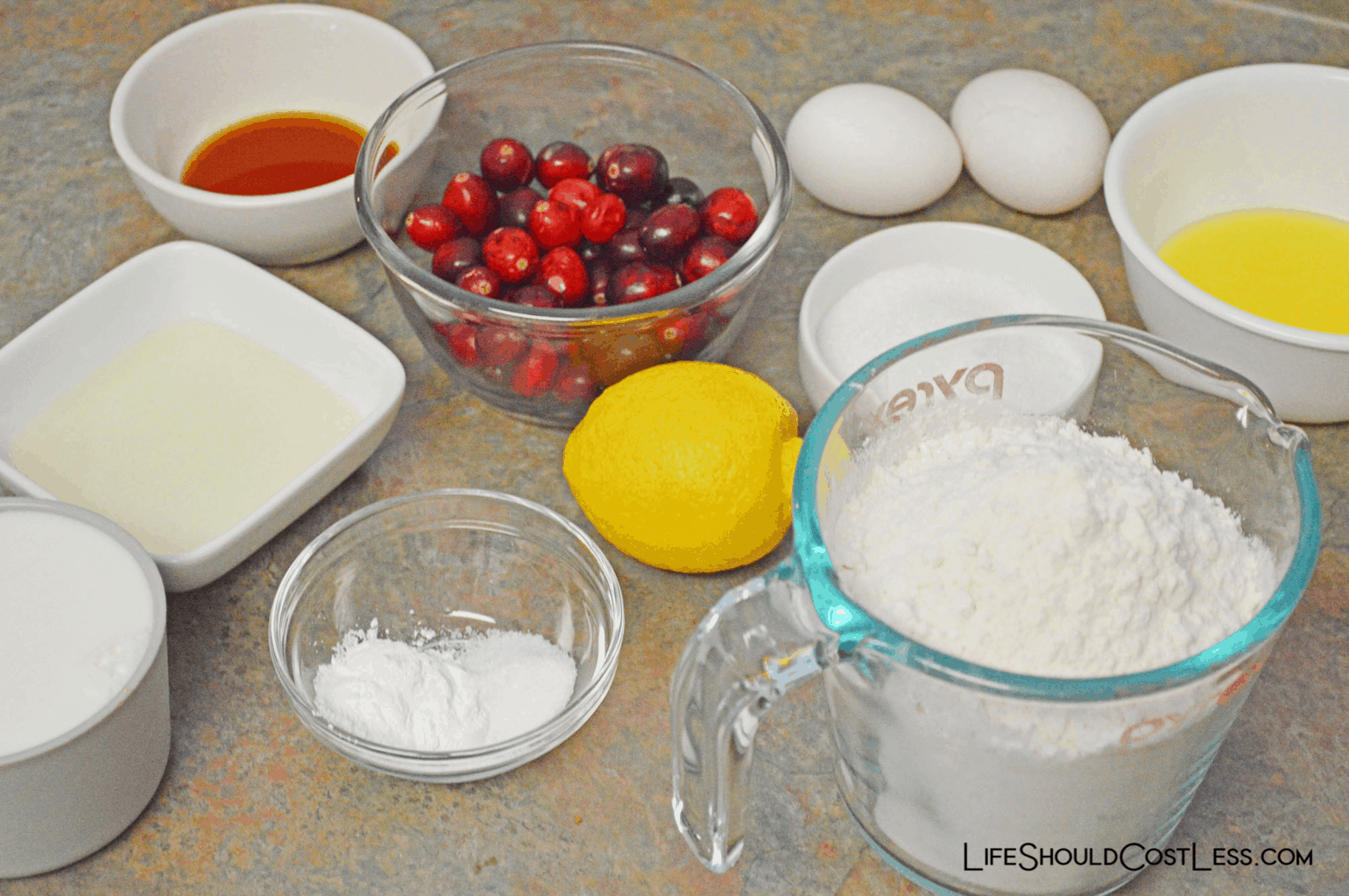 The best cranberry lemon muffins recipe.