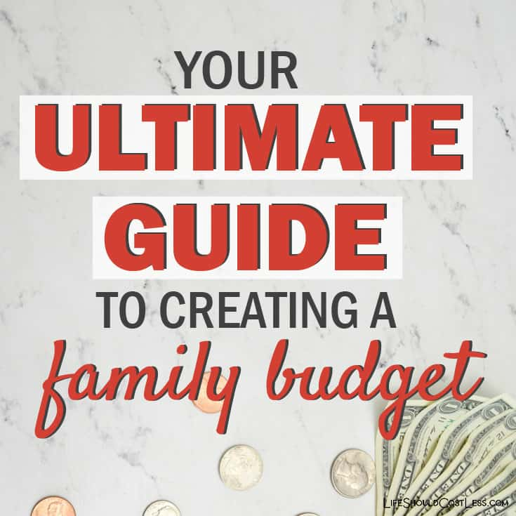 How To Start A Family Budget. lifeshouldcostless.com