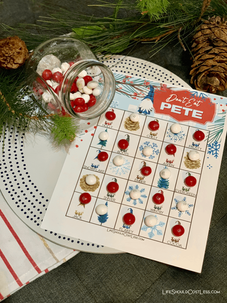 Winter Gnomes Don't Eat Pete Free Printable Kids Game