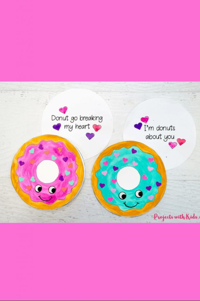 Free Printable Donut Valentine lifeshouldcostless.com