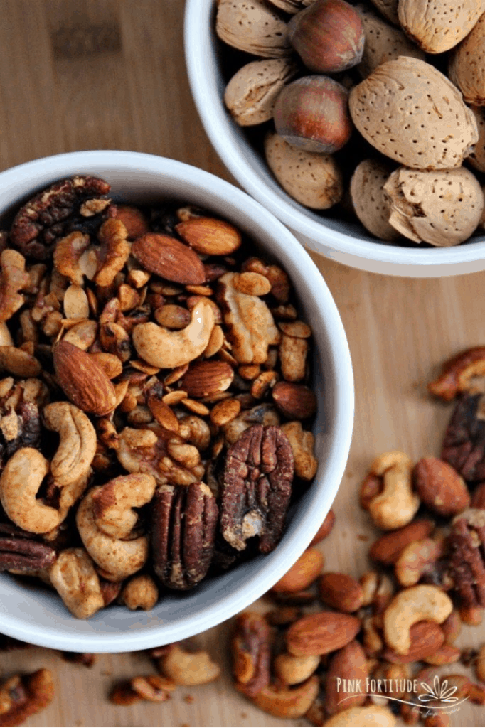 Savory Spiced Nuts Recipe Hors D'oeuvres Roundup lifeshouldcostless.com