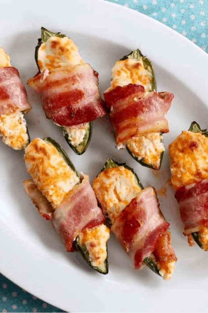 Delicious Bacon Wrapped Stuffed Jalapenos With Cream Cheese Recipe lifeshouldcostless.com
