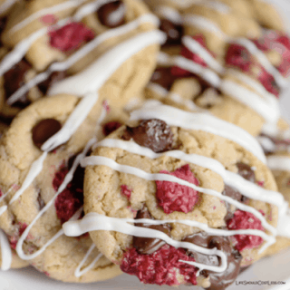 The Best White Chocolate Raspberry Cookies