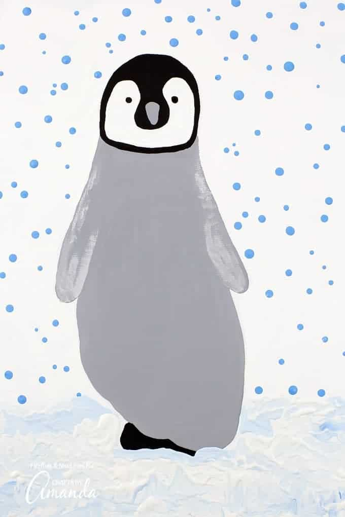 ootprint-penguin winter crafts for toddlers-1
