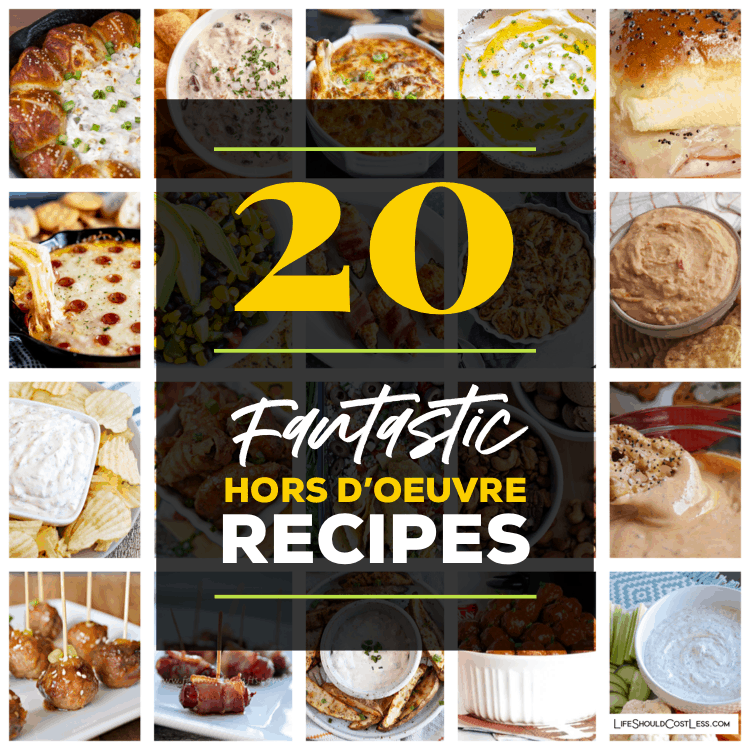 Quick And Easy Hors D'oeuvres Recipes lifeshouldcostless.com