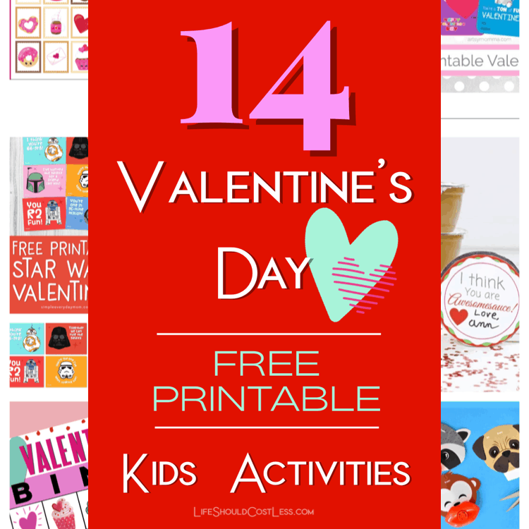 The Ultimate List Of Free Printable Kids Valentines Day Activities lifeshouldcostless.com