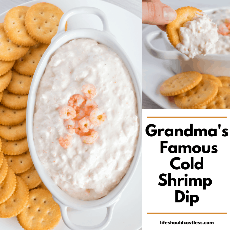 how to make the best cold shrimp dip recipe ever. For chips, crackers, or as filling for puffs.