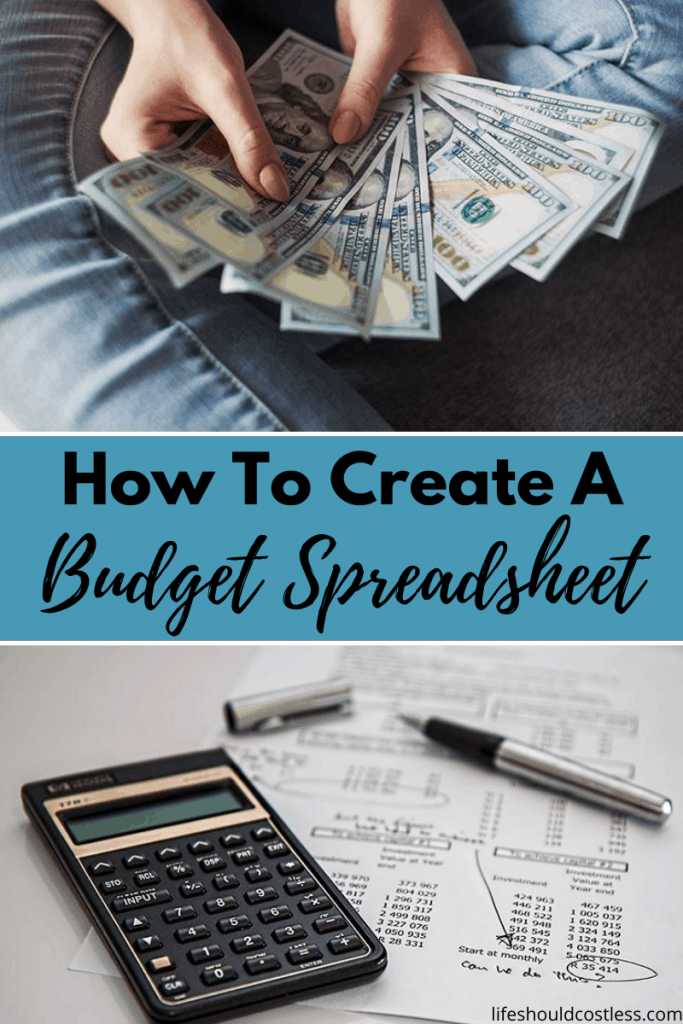 tips for making a budget