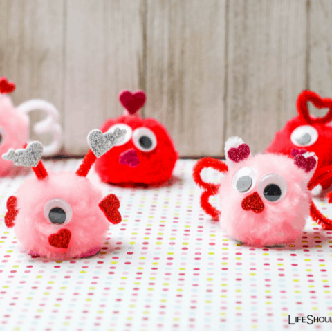 How To Make Love Bugs Valentine's Day Craft For Kids