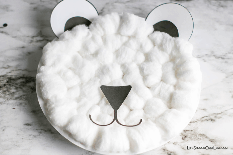 Polar bear craft projects lifeshouldcostless.com