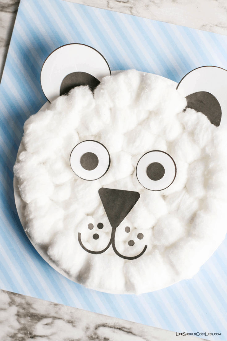Polar bear craft lifeshouldcostless.com