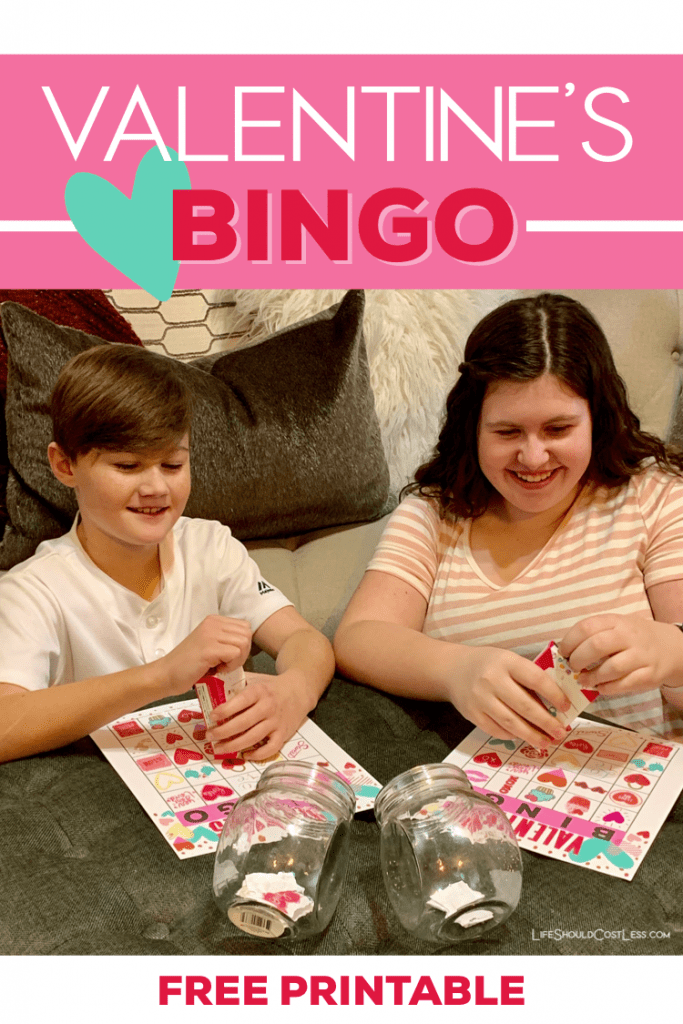 Valentine bingo game printable free. lifeshouldcostless.com