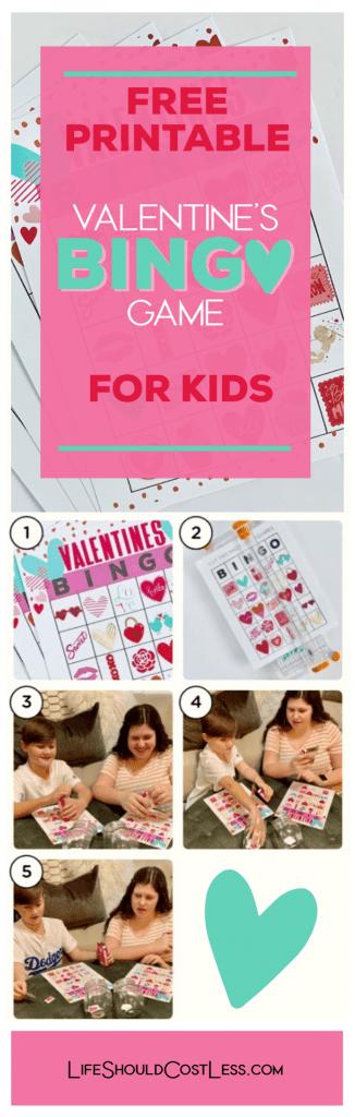 Printable valentine bingo cards. lifeshouldcostless.com