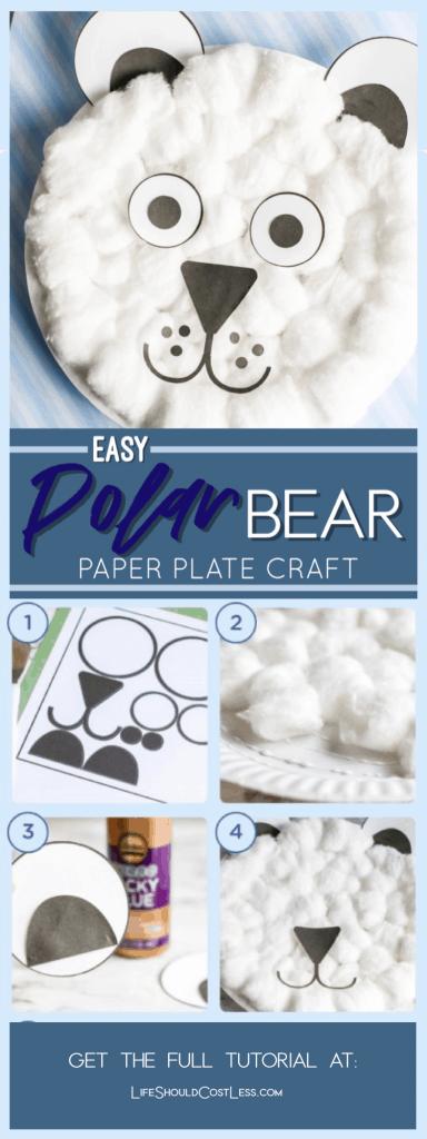 Polar bear art craft lifeshouldcostless.com