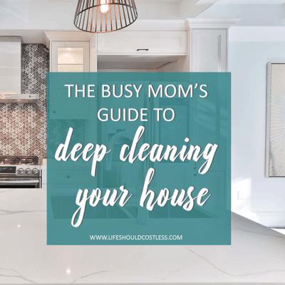 I clean my house lifeshouldcostless.com
