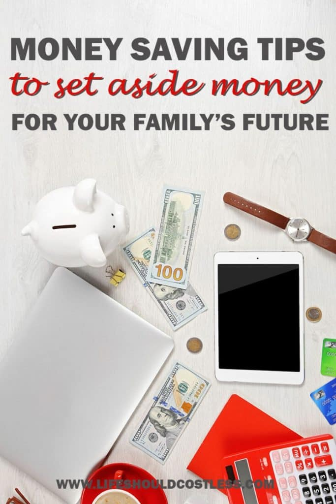 Money saving tips that are realistic and easy to follow to build up a nest egg for emergencies. lifeshouldcostless.com