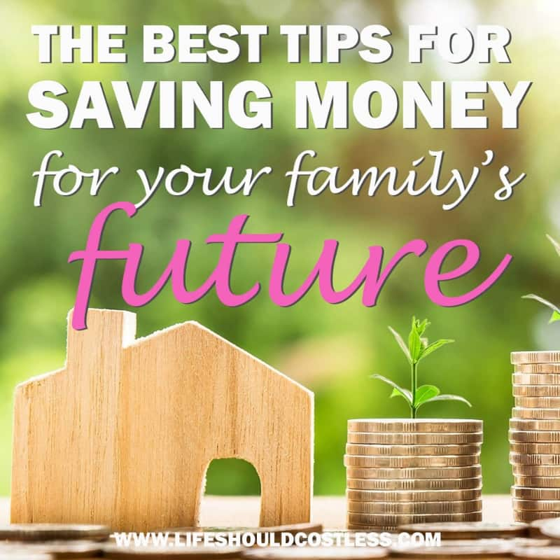 Best ways to learn to save money for some financial peace of mind. lifeshouldcostless.com