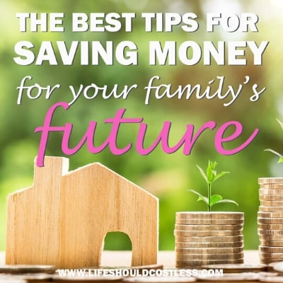 Some of the best ways to save money. lifeshouldcostless.com