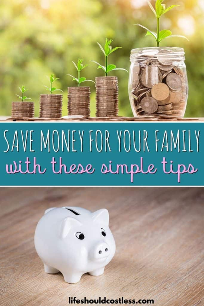 If you'd love for your family to have a safety net, but you're just not sure where to start, check out these tips on saving money. lifeshouldcostless.com