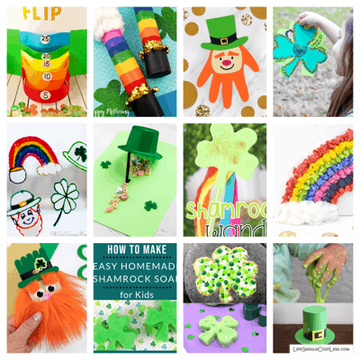 St Patricks Day craft ideas lifeshouldcostless.com