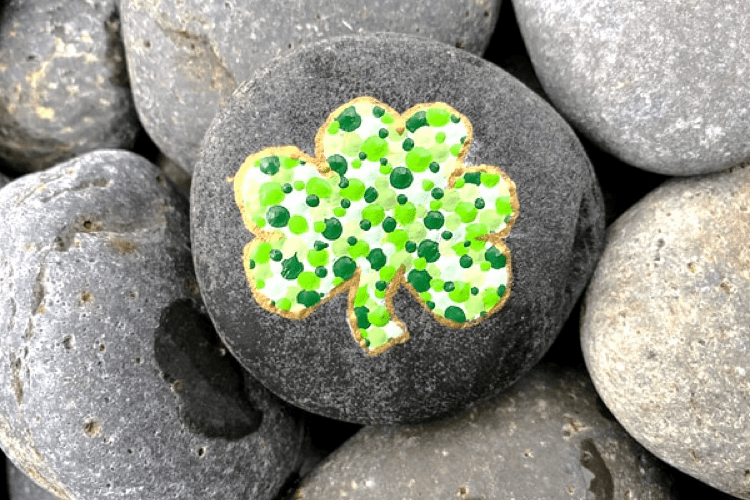 St patricks day rock painting ideas lifeshouldcostless.com