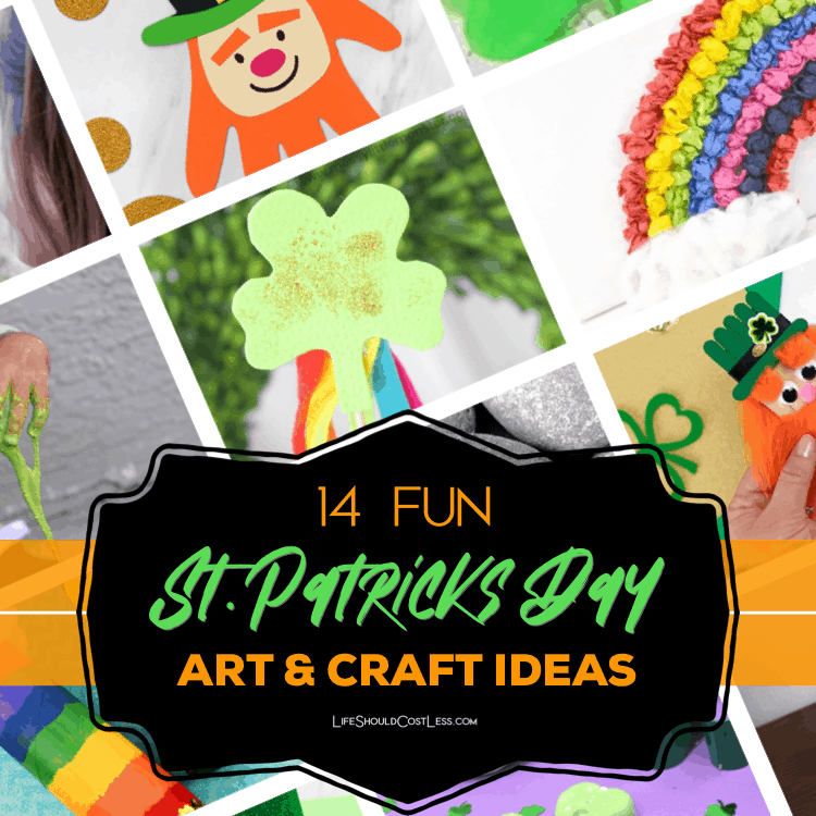 St patricks day art and craft ideas lifeshouldcostless.com