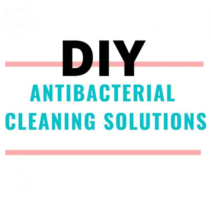 DIY Antibacterial cleaning solutions and sprays. lifeshouldcostless.com